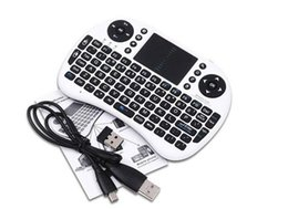 $enCountryForm.capitalKeyWord Australia - Mini Rii i8 Wireless Keyboard 2.4G English Air Mouse Keyboard Remote Control Touchpad for Smart Android TV Box Notebook Tablet Pc