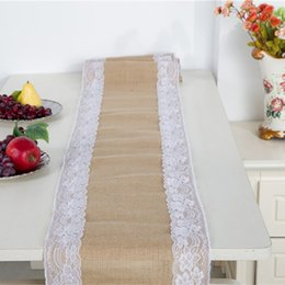 rectangle cake decoration Australia - rustic wedding table cloths linens vintage rectangle lace wedding Tablecloths place settings elegant special events Wedding Decorations 2019