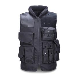 Discount tactical carrier vest - Unloading Tactical Camouflage Vest Carrier Many Pockets Vest Field Battle Waistcoat Cs Combat Uniform Vests