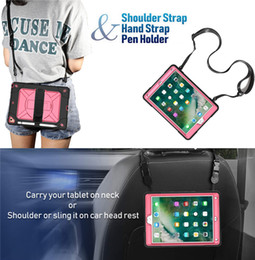 dark green ipad case Australia - for iPad 10.2 2019 9.7 2017 2018 air pro 9.7 mini 4 5 Transparent color Hybrid Shockproof Armor Holder stand crystal