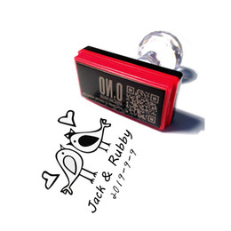 $enCountryForm.capitalKeyWord Australia - Custom scrapbooking self inking rubber stamp kids toy rectangle and square