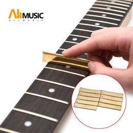 $enCountryForm.capitalKeyWord Australia - Golden Guitar Radius Fingerboard Fret Press Caul Insert for Guitarist Luthier Tool