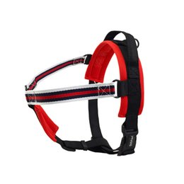 harness vest for dogs UK - Dog Harness No-Pull Pet Harness Adjustable Outdoor Pet Vest Oxford Material Vest for Dog Easy Control for Small Medium Large