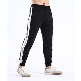 sports bodybuilding Canada - New Arrival Training Pants Mens Athletic Pants Mens Bodybuilding Fitness Sports Wear for Men Gym Running Christmas Fitness