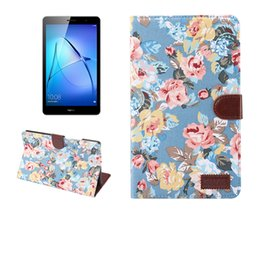M1 Tablets Australia - Fashion Stand Fabric Leather Case with Card Slot Function for Huawei Mediapad M3 Lite 8.0 CPN-L09 CPN-W09 CPN-AL00 Tablet+Stylus
