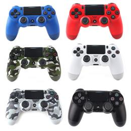 SHOCK4 Controlador inalámbrico de calidad superior Gamepad para Sony PS4 Joystick con paquete minorista LOGO Game Controller envío de DHL gratis en venta