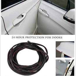 $enCountryForm.capitalKeyWord NZ - 5m Car Styling Door Side Protector Bumper Scratch Crash Rubber Strip Sticker For VW Polo Passat GTI B5 B6 CC GOLF 5 Bora Tiguan