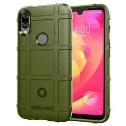 $enCountryForm.capitalKeyWord Australia - For Xiaomi Redmi 7 Pro Case Cover Soft Hybrid Armor Silicone Rubber Rugged Matte Finished Shield Fingerprint Proof Non-Slip