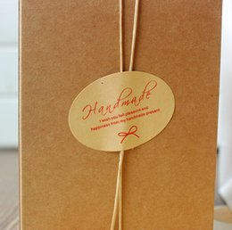 kraft products Australia - Kraft hand made Sticker, bakery ,cookie , cake ,soap ,home made products packaging