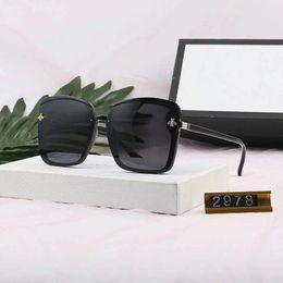 $enCountryForm.capitalKeyWord Australia - Hot Brand Men's Sunglasses Stylish Polarized Glasses for Men Women Adumbral Full Frame Glass UV400 6 Style with Little Bees Box