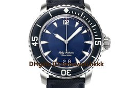 $enCountryForm.capitalKeyWord Australia - HG New 5050 designer watches Swiss Automatic Big Date Display Titanium Case NATO Nylon Strap Uni-directional rotating bezel Mens Watch