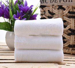Beauty Towels NZ - New Home Textiles Adult Towel Thickening Hotel Towels Beauty Gift Water Absorbing cotton White Towels