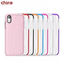 Cell Phones Cases Wholesale China Australia - China Water Ripples Cell Phone Case Full protection Soft TPU Phone Cover quadrangle protection for iphone 8 Xs Max Samsung S9