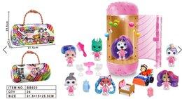 Опт Куклы Kawaii Детские игрушки Аниме Фигурки Реалистичные Reborn куклы младенца девушки малышей игрушкиединорогслепое окно Funko поп