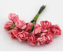 $enCountryForm.capitalKeyWord UK - Mini Size Handmade Paper Rose Flower - Wedding Decoration Scrapbook DIY Craft Gift Packaging Valentines Anniversary Embellishment Holiday