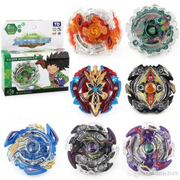 new beyblade sets Australia - New Beyblade Metal Fusion 4D Launcher Beyblade Spinning Top set Kids Game Toys Christmas Gift for Children 8 styles