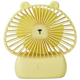 table ideas Canada - Usb Desk Mini Personal Fan Battery Powered 3 Speed Small Fan For Other Accessories Game Accessories Desk Table Home OfficeGift Idea For Kids