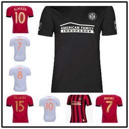e688cfc8b38 AAA++2019 2020 Atlanta United FC Soccer Jerseys 10 ALMIRON 16 MCCANN 15  VILLALBA 7 MARTINEZ GARZA Custom Home Red White Black Football Shirt