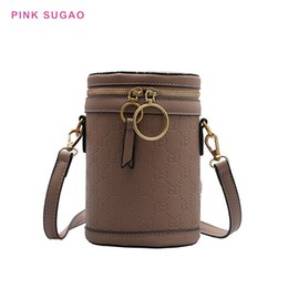 hot pink buckets Australia - Pink sugao women shoulder bags designer bucket bags new fashion tote bag luxury handbag crossbody bag hot sales bucket bag pu leather