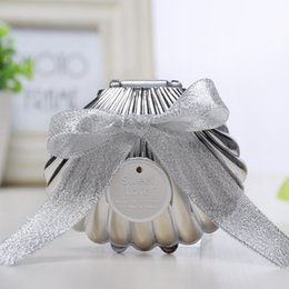 Wedding Ring Types Australia - Plastic Shell Jewelry Box Wedding Favors Party Gifts Jewellery Ring Storage Case High Grade Romantic Hot Sale 1 88dyb1