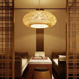 $enCountryForm.capitalKeyWord Australia - Vintage Southeast Asian Style Rattan Pendant Weaving Ceiling Lamp Chandelier New For Bedroom Bar Living Room Home Lighting