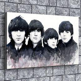 $enCountryForm.capitalKeyWord Australia - Beatles, Tom Hardy,1 Pieces Home Decor HD Printed Modern Art Painting on Canvas (Unframed Framed)