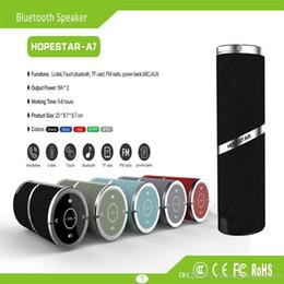 Factory Direct Audio Australia - HOPESTAR-A7 factory direct sales Bluetooth speaker Portable Bluetooth speaker outdoor waterproof wireless audio portable portable touch TWS