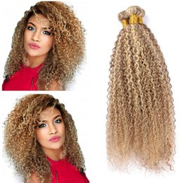 $enCountryForm.capitalKeyWord NZ - Light Brown with Blonde Piano Color Hair Bundles 8 613 Kinky Curly Hair Bundles Brown Highlight Blonde Brazilian Human Hair Weaves