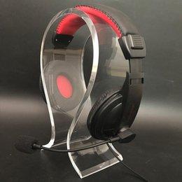 $enCountryForm.capitalKeyWord Australia - Headphone bracket, acrylic headphone display stand, acrylic headphone stand