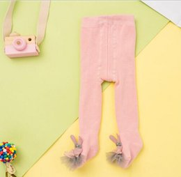 terry cotton NZ - Terry Thick Baby pantyhose Autumn And Winter Cotton Warm White Children Leggings Girls Pantyhose
