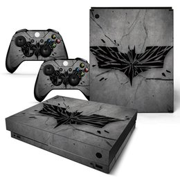 xbox one sticker Australia - Fanstore Skin Sticker Vinyl Decal Joystick Decal for Xbox One X Console and 2 Remote Controller