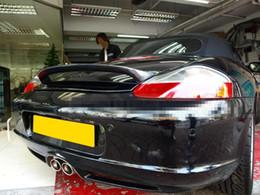 Trunk spoilers online shopping - FOR Carbon Fiber Boxster Sport Rear Wing Trunk Spoiler