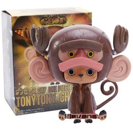 one piece chopper figures UK - Anime One Piece Film Gold Tony Tony Chopper PVC Figure Collectible Model Toy
