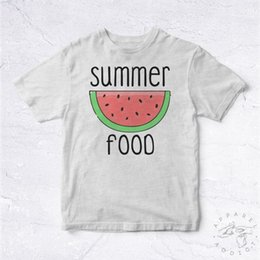 2e535b17c NEW Tee Shirt Summer Food BIO Watermelon Seeds Fruts Fruits Summer Cool  HappyFunny free shipping Unisex Casual Tshirt