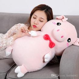 $enCountryForm.capitalKeyWord Australia - 20170723 2019 New Year Hot Sale Lovely Plush Toys Pig Pillow Doll For Girls Gift Sleeping Of Free Shipping