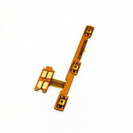 phone off switch NZ - New For Huawei honor 7X Play Phone New Power on off+Volume up down Switch Button Flex Cable Repair Parts