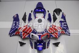 $enCountryForm.capitalKeyWord Australia - Free Custom New Injection Full fairings kit Fit for Honda CBR600RR 03 04 ABS fairing set CBR 600RR F5 2003 2004 red blue USA