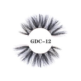 $enCountryForm.capitalKeyWord NZ - 25mm INS 5D Mink Hair False Eyelashes 3D Mink Hair Thick Long Eyelashes GDC01-13 Very Fashion Curled Soft Black Eye Lashes Thick Super Long