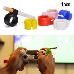 $enCountryForm.capitalKeyWord NZ - Silicone Smoking Cigarette holder Tobacco Joint Holder Ring regular size Smoking Tools accessories Gift For Man Women Pipes 8 color