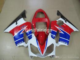 $enCountryForm.capitalKeyWord Australia - Injection mold ABS plastic fairing kit for Honda CBR600 F4i 01 02 03 red white blue fairings CBR600F4i 2001 2002 2003 HW16