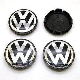 Wholesale 4pcs 56mm For VW Wheel Hub Cap Center Cover Cap Logo Sizes Car Hub Caps Covers
