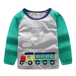 aabbc6231 Baby Christmas Tshirt Australia - Jumping meters Brand 2018 Long Sleeve  Autumn Spring T shirt For