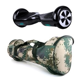 """Smart Scooter Bags NZ - 8"""" Camouflage Twist Bag Automatic Balance Smart Waterproof Portable Wearable HoverBoard Carrying Bag Electric Scooter Backpack"""