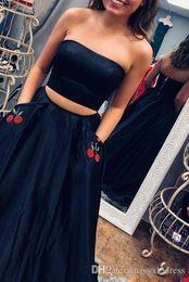 $enCountryForm.capitalKeyWord Australia - chic two pieces engagement plus size long arabic red evening formal dresses 2018 mermaid prom dresses party wear Abendkleider