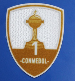 78e7a09fd New style CONMEBOL Libertadores patch 1 cup 2 cup CONMEBOL patch soccer  badge good quality free shipping