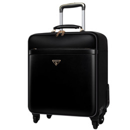 Wholesale horizon Famous Designer Metal Luggage Aluminum Alloy CarryOns Rolling LugThicker Travel Suitcase Protgage Suitcase High Strength Bag