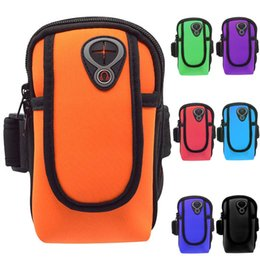 Wrist Phone Cases For Running Australia - Universal Arm Wrist Band Running Bag Sport Mobile Phone Case Waterproof Wallet Pouch For Huawei Samsung iPhone Sports Arm Bags #86511