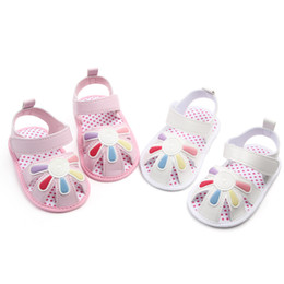 $enCountryForm.capitalKeyWord Australia - Baby Pu Leather Summer Hollow Sandals for Toddler Girl Rubber Sole Anti-Slip Slippers Dress Shoes Cute Newborn Girls Princess Shoes