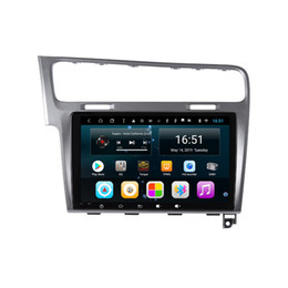 """$enCountryForm.capitalKeyWord Australia - Android car radio with GPS navigation free map front camera bluetooth multi-touch screen lossless music for Golf 7 Golf MK7 Golf GTR 10.1"""""""