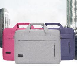 Laptop handbag 15 online shopping - Briefcase Large Capacity Laptop Handbag Notebook Bag For Men Women Travel Bussiness For Inch Macbook Pro Pc Sleeve Case